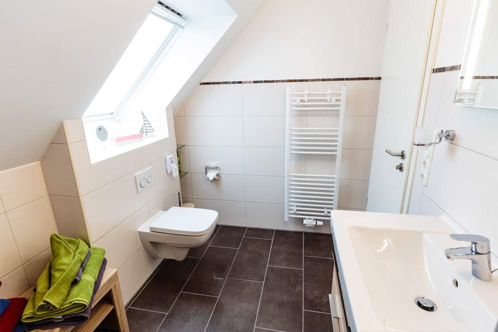 Fewo Langeoog Badezimmer