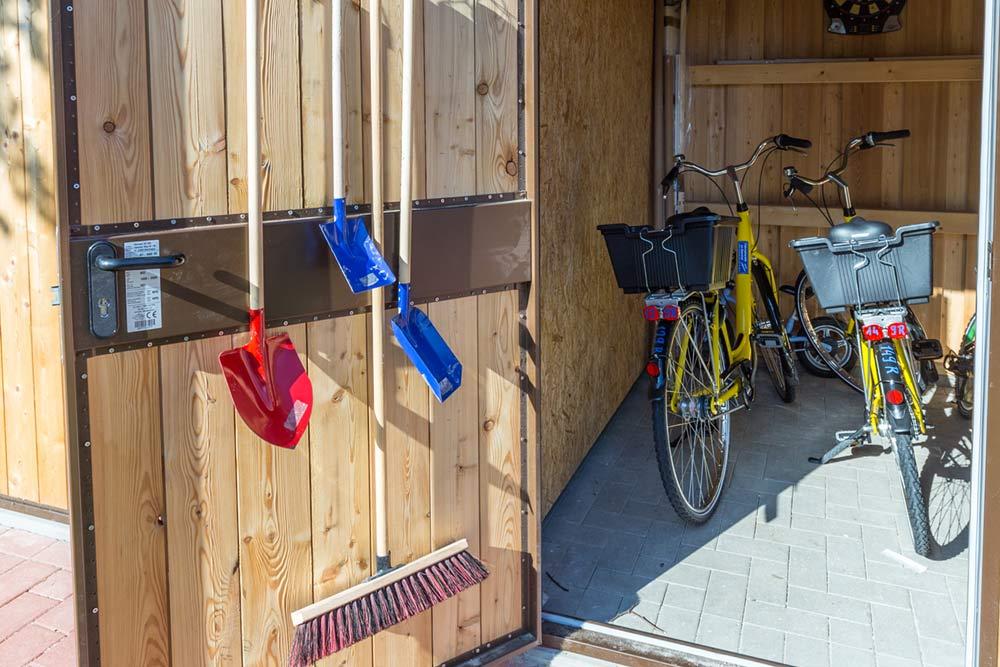 Fewo Langeoog Fahrräder abstallraum