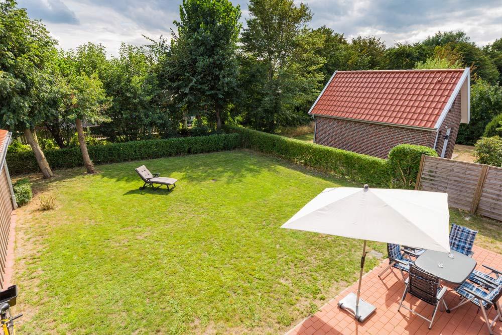 Fewo Langeoog grosser Garten