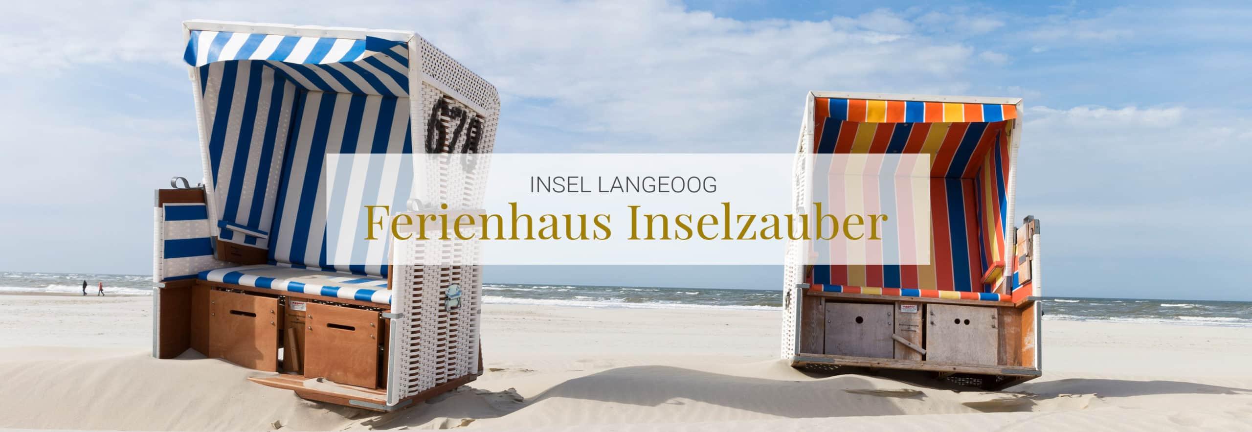 Ferienhaus Langeoog mit eigenem Garten und Strandkorb